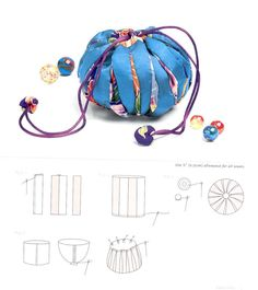 Crafting, Sewing, and Contemplation. Fabric Bags, Fabric Scraps, Sewing Crafts, Sewing Projects, Japanese Bag, Potli Bags, Fabric Origami, Dice Bag, Miniature Quilts