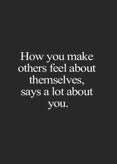 It all depends on what you say to them