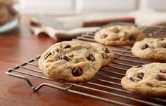 There's always room on the table for a classic chocolate chip cookie, especially when it's a HERSHEY'S Perfect Chocolate Chip Cookie.