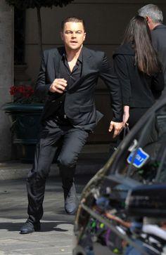 Leonardo DiCaprio runnin yep