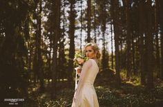 Photo by Johanna Hietanen  http://johannahietanen.com/ Accessories, makeup & hair by Ninka  www.ninka.fi  Flowers by Sisters In Bloom www.sistersinbloom.fi