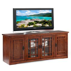 Designed For Sets Up To 60 Inches And Featuring An Integrated Cable  Management System, This Mission Style TV Stand Enhances Your Homeu0027s  Entertainment Space.