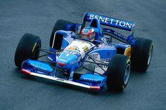 f1pictures: Michael Schumacher Benetton - Renault 1995