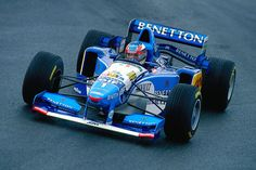 f1pictures:  Michael Schumacher  Benetton - Renault 1995