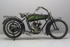 1914 Wanderer 4PS 504cc Motorcycle. Wanderer Motorcycles (1902-1929). Chemnitz, Germany.