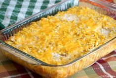Cream corn casserole recipe that's super easy to make. Our all time favorite cheesy corn casserole we have every year as a Thanksgiving side dish.