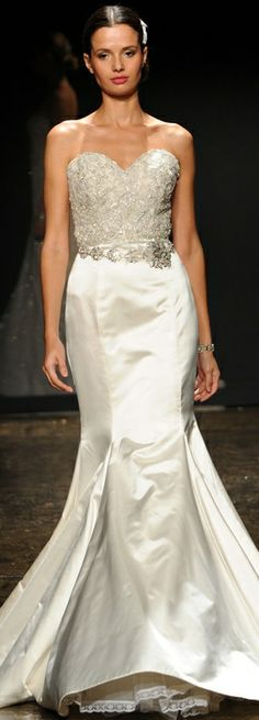 Lazaro Spring 2014 Wedding Dress
