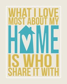 Love who I share my home with