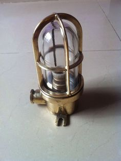 New Nautical Marine Brass Passage Lights Set Of 2 Pieces Maritime Other Maritime Antiques