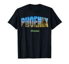 Usa Shirt, T Shirt World, Phoenix Arizona, Christian Shirts, Best Cities, Tees, Mens Tops, Printing, Technology
