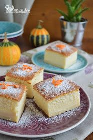 Barbi konyhája: Csodakrémes Hungarian Recipes, Hungarian Food, Dairy Free Recipes, Cakes And More, Free Food, Food And Drink, Pudding, Sweets, Cheese