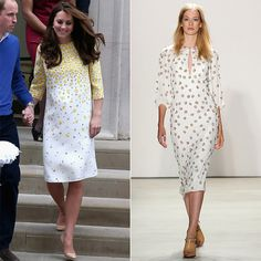 These Bold Runway Looks Have Kate Middleton's Name Written All Over Them