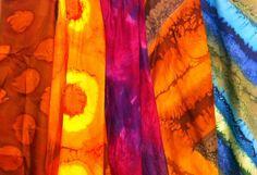 AVIGART hand painted silks