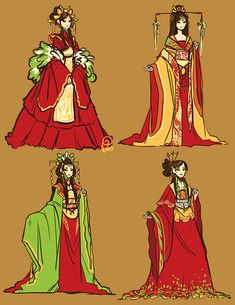 Imperial Chinese Clothing. Elegant and beautiful.