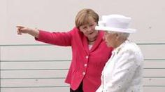 Angela Merkel and the Queen