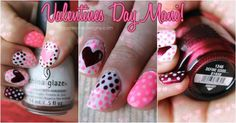Agape Love Designs: Valentines Day Mani Inspiration + Tips