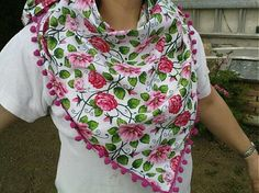 Wesega / Kvetovaná šatka