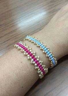 Seed Bead Bracelets, Seed Beads, Beaded Jewelry, Jewellery, Facebook Sign Up, Jewels, Pearl Jewelry, Schmuck, Beading