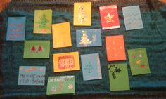 There is nothing more wonderful to send for Christmas than home made cards. Yes, they are not perfect, yet they are unique! And what a fun making them!!!