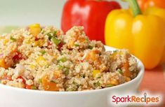 Simple Quinoa and Vegetables  Recipe by CHEF_MEG