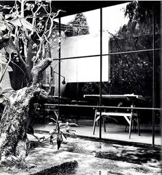 Taller de Luis Barragán Calle Francisco Ramirez, Tacubaya, México DF, 1948 -    Workshop of Luis Barragan, Mexico City