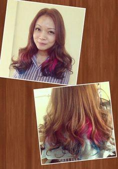 Dip Dyed Hair Colour