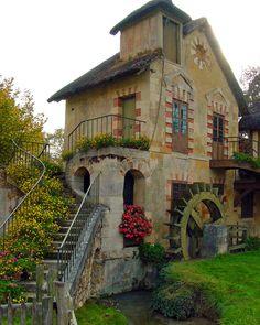 A little cottage... Hamlet of Marie Antoinette, Versailles, France