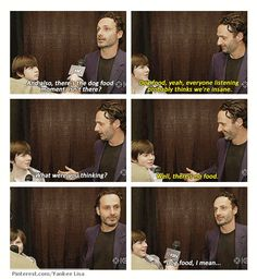 Chandler Riggs & Andrew Lincoln, The Walking Dead