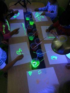 Il·luminem la foscor Autor: Laura Milena Gràcies a aquesta activitat podrem decorar la sala on els nens facin la migdiada per a que no tinguin por i vegin els seus dibuixos d'una forma diferent.