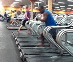 when i go to the gym