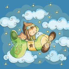 Flying High by RachelleAnneMiller on Etsy, $15.00