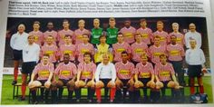 1991 Sheffield United team lineup - from the Official Premier League Yearbook 1991
