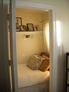 Ellen's Walk-In Closet Bedroom — My Bedroom Retreat Contest | Apartment Therapy