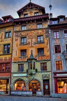 Lucerne Switzerland :: such a gorgeous house