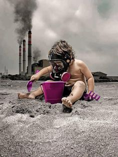 the future of earth affected by pollution Save Our Earth, Save The Planet, Salve A Terra, Theme Tattoo, Photocollage, Environmental Issues, Global Warming, Satire, Mother Earth