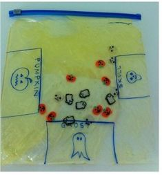 Sensory, Seasonal Activity of Week: Touch, Feel and Sort Halloween Friends -repinned by @PediaStaff – Please Visit ht.ly/63sNtfor all our pediatric therapy pins