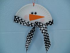 easy, free snowman project