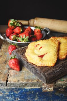 Low-Carb Strawberry Pastries Recipe-Final product.