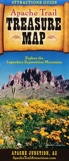 We are the gateway to outdoor adventure - The Superstition Mountains and the famous Apache Trail. Our community is rich in history, activities, and a fantastic quality of life. Local Activities, History Activities, Apache Junction, Brochure Online, Superstition Mountains, Treasure Maps, Brochures, Trail, Community