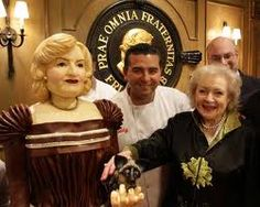 Life Size Cake of Betty White from Cake Boss