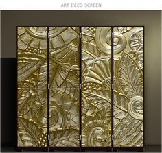 Trendy Art Deco Pattern Design Home Decor Ideas Art Deco Stil, Modern Art Deco, Art Deco Home, Arte Art Deco, Art Deco Era, Art Nouveau, Art Et Architecture, Bijoux Design, Art Deco Pattern