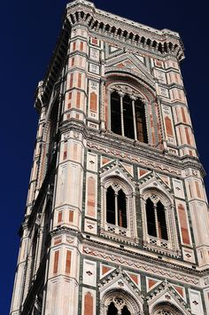 Florencja - dzwonnica (kampanila) / Campanile, Florence