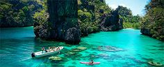 El Nido is also the largest marine reserve and sanctuary in the Philippines with a total area of 903. Description from wanderwisdom.com. I searched for this on bing.com/images