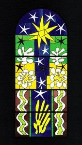 Stained glass by Henry Matisse. Wish I could be this good!