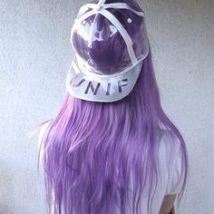 aliencreature purple hair unif indie style