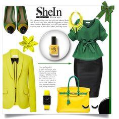 SHEIN CONTEST by pamelica on Polyvore featuring Sonia Rykiel, L.A.M.B., Hermès, Casetify, INC International Concepts, Deborah Lippmann, Avon and shein