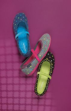 Caramel spotty slippers   Moshulu