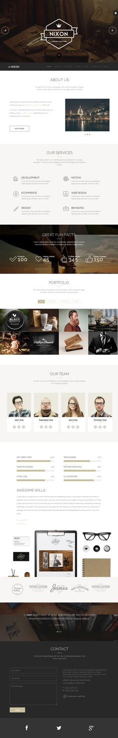 Nixon - Creative One Page Multi-Purpose Theme | Buy and Download: http://themeforest.net/item/nixon-creative-one-page-multipurpose-theme/8218269?WT.ac=category_thumb&WT.z_author=jellythemes&ref=ksioks