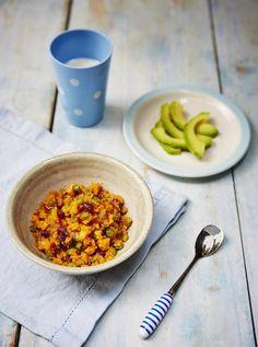Weaning Recipes: Helen's African sweet potato stew