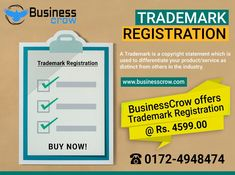 Trademark Registration Consultants in India. Trademark (TM) registration protects your brand & logo in low fees and give a unique identity to your business.